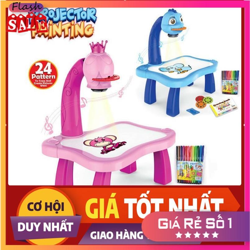 [ RẺ VÔ ĐỊCH ] Bộ đồ chơi bàn vẽ 3D, bàn chiếu đa năng chiếu hình tập vẽ có đèn chiếu sáng thông mình cho bé, Bộ bàn đèn thông minh chiếu hình tập vẽ cho bé học vẽ