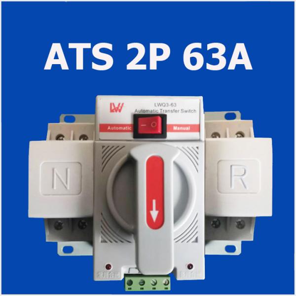 Bộ chuyển nguồn tự động (LW) ATS 2P 63A - tự động chuyển nguồn điện khi mất điện