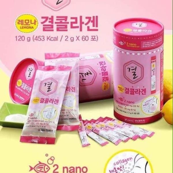 Bột Collagen Lemona Gyeol Nano ( 60 gói)
