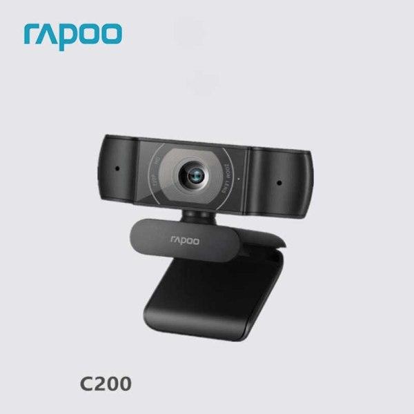 Bảng giá [HCM]Webcam RAPOO C200 độ phân giải HD 720P - Hãng phân phối chính thức Phong Vũ