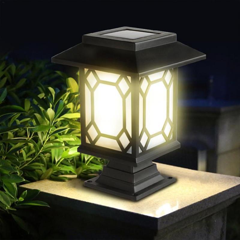 2PCS Solar Garden Lights Outdoor Waterproof Multi-purpose Courtyard Lantern
