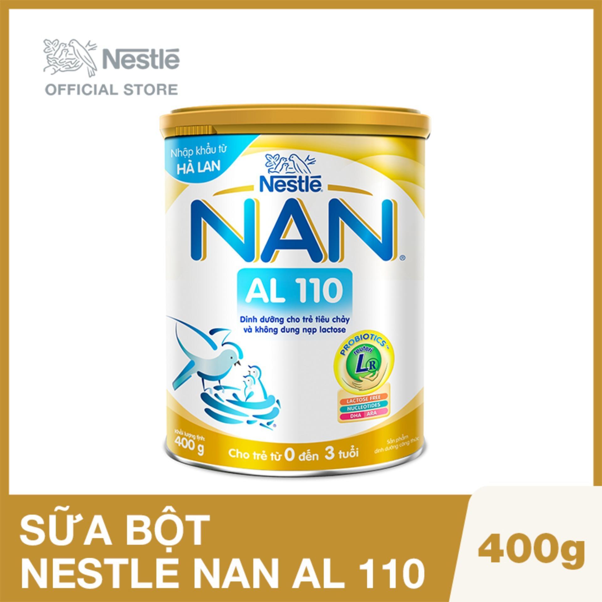 Sữa bột Nestle NAN AL 110 - 400g