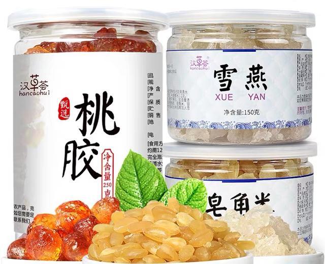 Combo Tuyết Yến, Hạt Tuyết Liên Tử, Nhựa đào 500gr - Siêu Tiết Kiệm Giá Quá Ưu Đãi