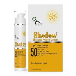 Kem chống nắng Fixderma Shadow Silicone Matte Cream SPF 50+ Bảo vệ trước tia UV, ánh sáng xanh.... thumbnail