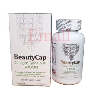 Viên collagen BeautyCap bổ sung vitamin AECB5 dưỡng da của Mỹ thumbnail