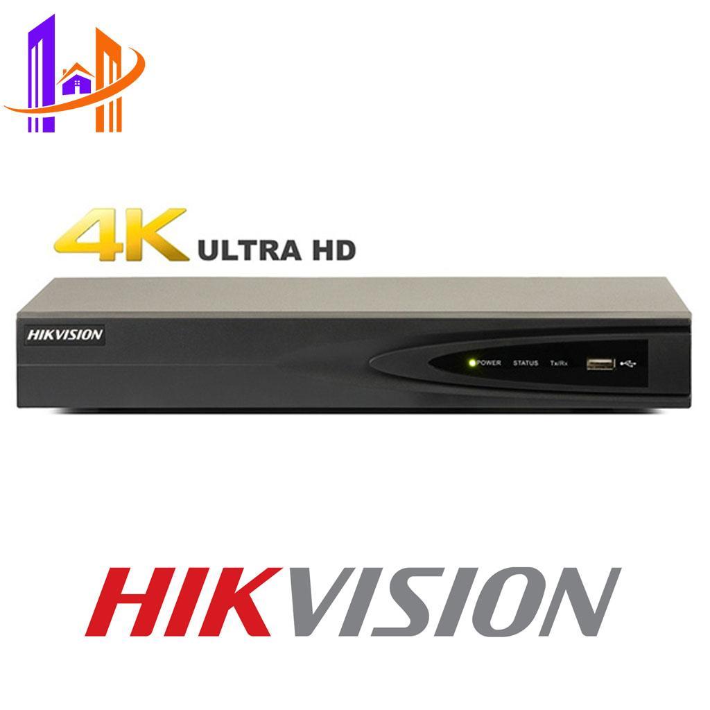 Đầu ghi hình Camera HIKVISION 8 kênh  DS-7608NI-K1(B) H.265+, hỗ trợ 4 loại camera AHD/TVI/CVI/CVBS – Công Nghệ Hoàng Nguyễn