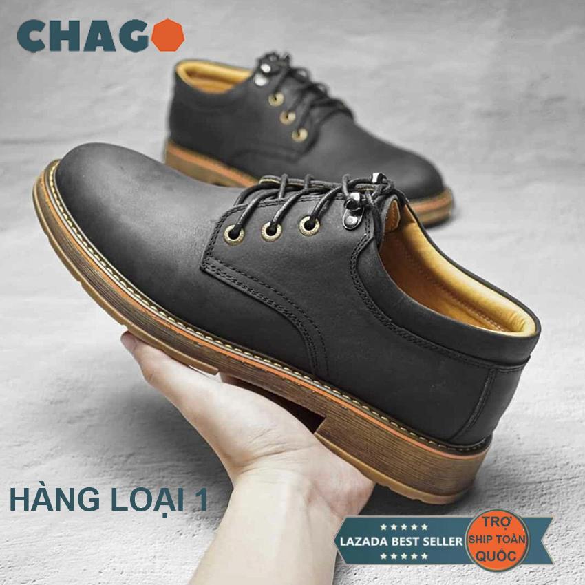 Giày tây nam cao cấp Chago - giày được làm từ da bò tốt giống giày lười giày mọi Chago  - GTN111-LDV01