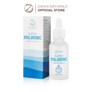 Serum (Tinh Chất) Cấp Nước Phục Hồi Da Zakka Naturals Super Hyaluronic Vitamins Serum 30ml thumbnail