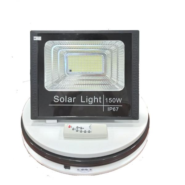 Đèn LED siêu sáng (150w) dùng năng lượng mặt trời tích hợp điện, tự động tắt bật, chống nước chống bụi IP67 - Đèn led năng lượng mặt trời, đèn led pha, đèn led cảm cảm ứng - Công nghệ 4.0