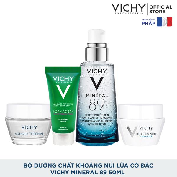 [THẦN THÁI CĂNG TRÀN] Bộ dưỡng chất (serum) chăm sóc toàn diện Vichy Mineral 89 50ml tốt nhất