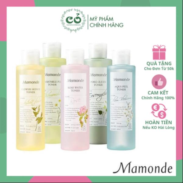 Nước hoa hồng - Toner Mamonde cao cấp