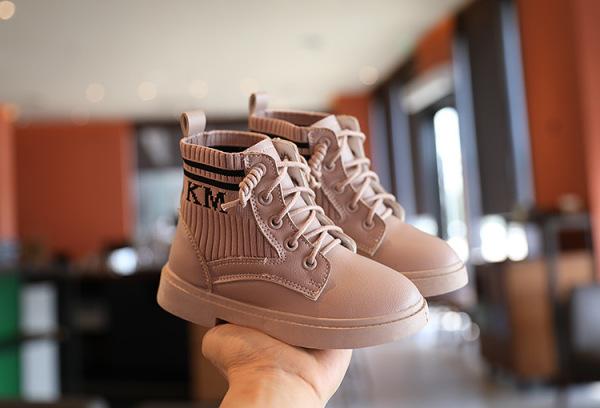 Giá bán Giày Boot cho bé gái phong cách hàn quốc EB006