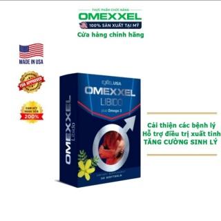Viên uống OMEXXEL LIBIDO tăng cường sinh lý và sức khỏe nam giới hiệu quả từ thảo dược thiên nhiên - Hộp 30 viên - Xuất xứ Mỹ - BeeKing Company thumbnail