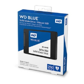 [HCM]Ổ Cứng ssd 250gb WESTERN BLUE SATA SSD 2.5 NEW thumbnail
