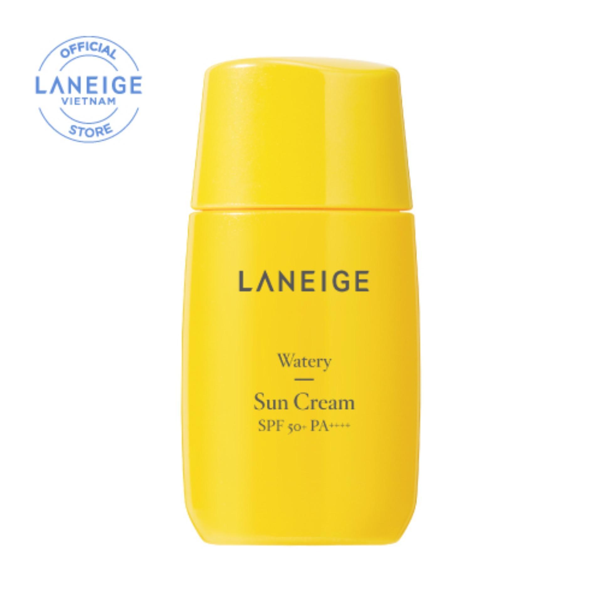 Kem chống nắng cho da thường và da khô Laneige Watery Sun Cream SPF50+ PA++++ 50ml tốt nhất