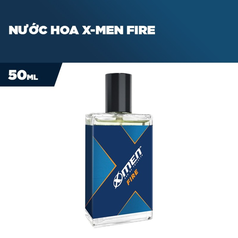 NƯỚC HOA XMEN FIRE 50ML | TẶNG KÈM 2 GÓI DẦU GỘI XMEN FIRE | DLS
