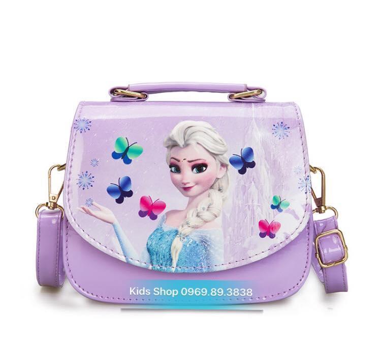 Giá bán Túi đeo chéo hình công chúa Elsa Frozen - Tặng kèm 10 nhẫn Elsa Anna