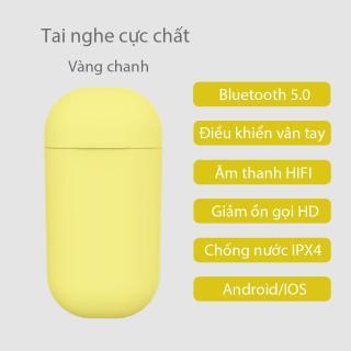 Tai nghe bluetooth inPods ONE nhỏ gọn không dây sang trọng Nút thao tác cảm ứng cao cấp bluetooth 5.0 gọi thoại HD âm thanh chất lượng HIFI dễ dàng mang theo thích hợp cho cả Android lẫn IOS thumbnail