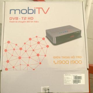 Trọn Bộ Đầu thu Truyền hình Mobi tivi(an viên) bao gồm anten và thuê bao 1 tháng giá tốt thumbnail