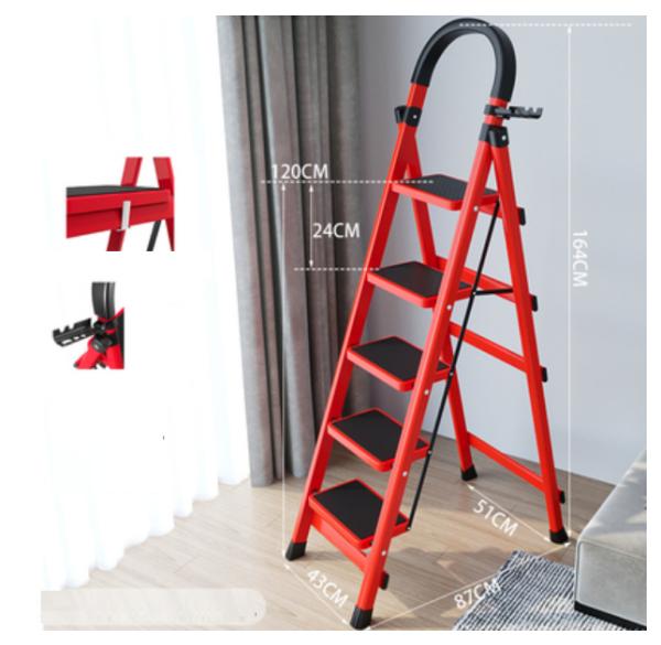thang ghế xếp gọn đa năng 5 bậc 6 bậc yuanguan khối lượng nhẹ tải trọng cao
