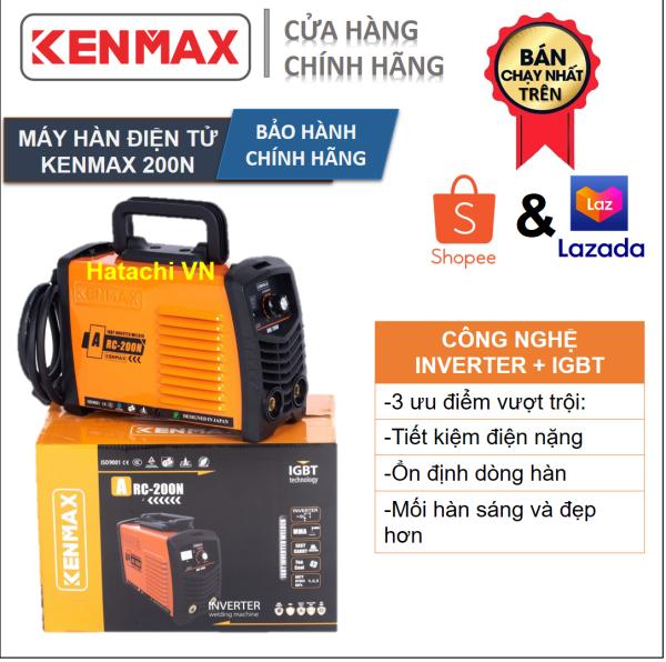 Máy hàn | Kenmax ARC 200N | Tặng full bộ phụ kiện + thương hiệu Nhật Bản