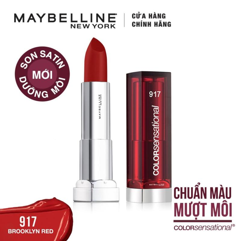 Son satin dưỡng môi Maybelline New York Color Sensational State Your Color 3.9g cao cấp