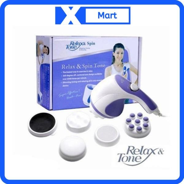 Máy massage toàn thân Relax Spin&Tone 5 đầu giúp giảm mỡ eo, thon gọn cơ thể cao cấp
