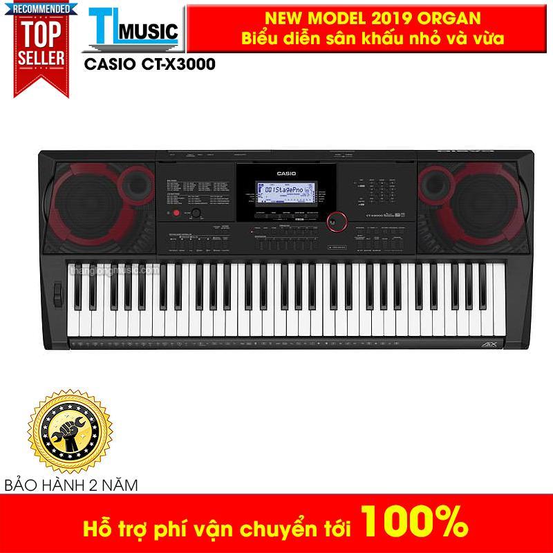 Đàn Organ Casio CTX3000 - Kèm Bao + USB + Nguồn + Giá nhạc (CTX3000) Thăng Long Music