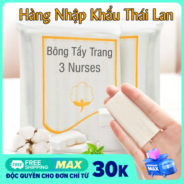 Bông Tẩy Trang Thái 120 miếng 💖Sỉ 12K💖 - Hàng Thái Lan cao cấp - Bông Tẩy Trang Cao Cấp - Cotton makeup remover made in Thailand 150 pieces - Cheap makeup remover - High-quality makeup remover