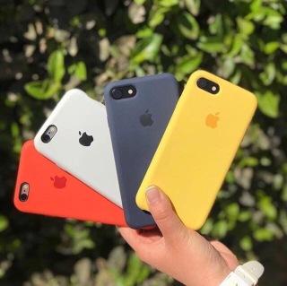 Ốp lưng silicone case chống sốc chống bám bẩn cho iPhone 6, 6S, 6Plus, 6SPlus, 7, 7Plus, 8, 8Plus, X, XS, XR, XSMax, 11, 11Pro, 11 Promax, SE2020 thumbnail