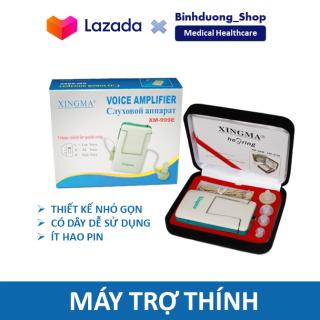 Máy trợ thính cho người già nhét tai có dây Xingma XM-999E điều chỉnh được âm lượng công nghê Nhật Bản nhỏ gọn bỏ túi tiện lợi thumbnail
