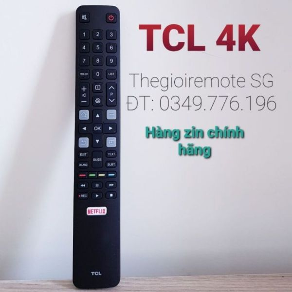 Bảng giá REMOTE TIVI TCL 4K