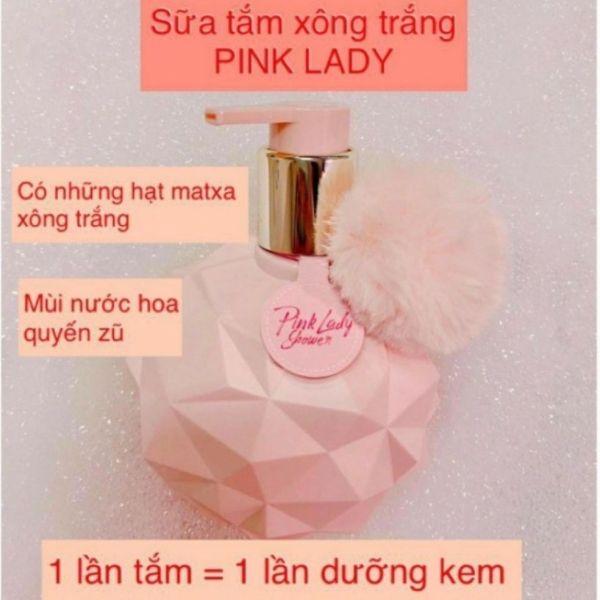 sữa tắm xông trắng Pink lady Shower chính hãng giá rẻ