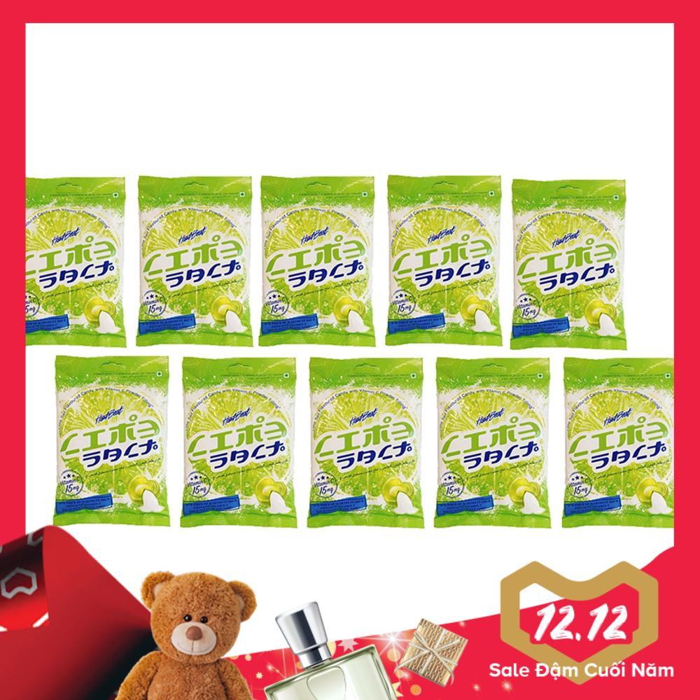 Hình ảnh Bộ 10 gói Kẹo Chanh Muối Thái Lan 120g/gói