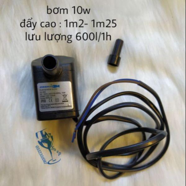 Bảng giá Bơm nước quạt điều hoà 10w . Đẩy cao 1m2 - 1m25 có chỉnh lưu lượng nước hút