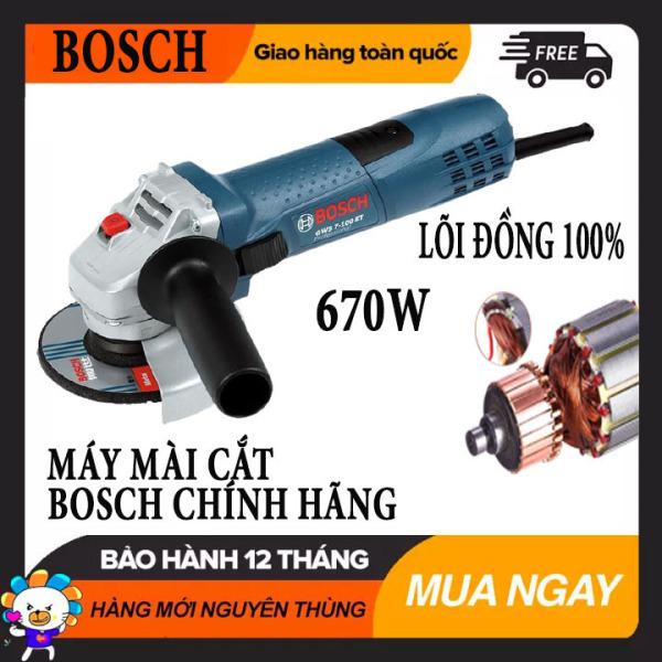 MẪU MỚI 2021] Máy mài, máy cắt cầm tay BOSH GWS lõi đồng 670W, Máy cắt sắt bosh - Máy mài điện - Máy mài cầm tay BOSS - Máy mài góc - Máy cắt 100% lõi đồng nguyên chất