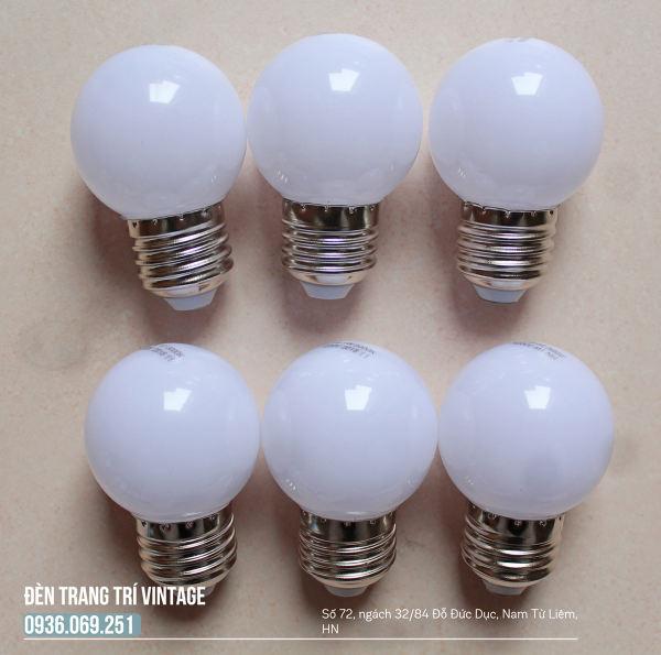 Bộ 5 bóng đèn led 1W - Bóng đèn trang trí ngoài trời