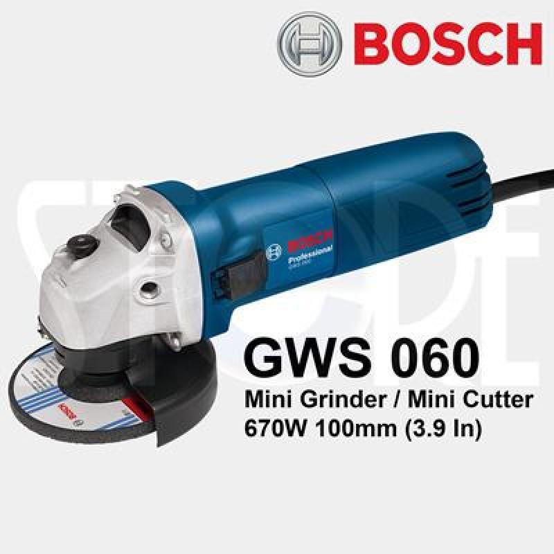 Máy mài góc Bosch GWS 060 + Đá cắt đá mài 100