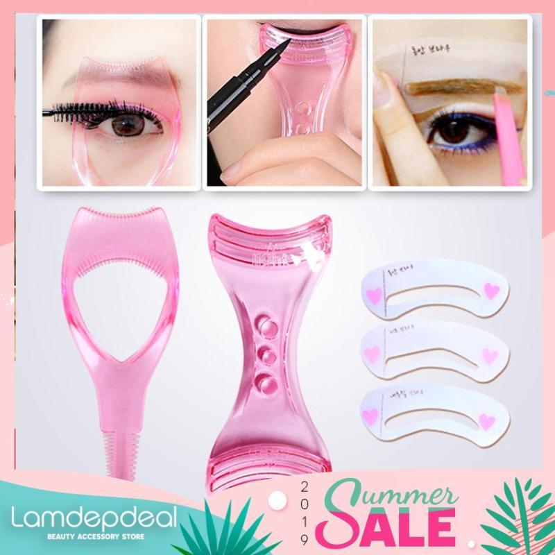 [FS 99K + COMBO GIẢM GIÁ 12K] Combo 3 dụng cụ hỗ trợ trang điểm cho mắt - Bộ combo đầy đủ hoàn hảo cho bạn gái - Lamdepdeal