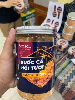 RUỐC CÁ HỒI SAPA NGUYÊN CHẤT - từ Nhà hàng Cá Hồi Vua Sapa Hộp 100gr thumbnail