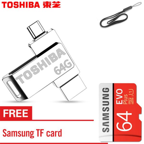 Bảng giá OTG 64GB USB Memory Stick U Disk Pen Drive Pendrive Usb Flash Drive dành cho điện thoại thông minh Android với thẻ nhớ Samsung miễn phí Phong Vũ