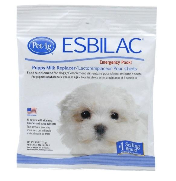 Esbilac - Sữa bột dinh dưỡng cho chó con 21g