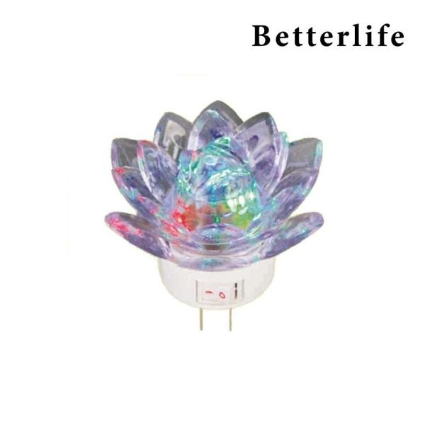Bóng đèn led ngũ sắc đổi màu hình bông sen cao cấp - BetterLife