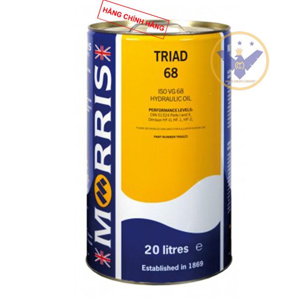 Giới thiệu dầu thủy lực Morris Triad ISO VG 68 xô 20L