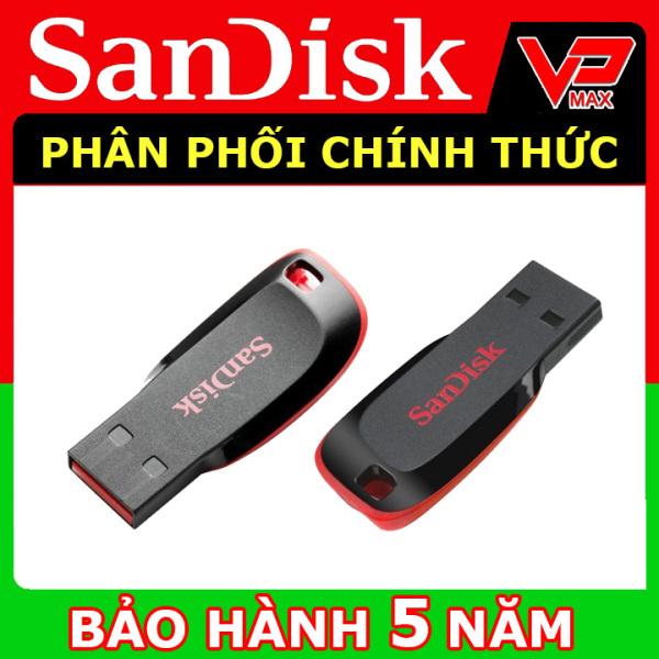 Bảng giá USB Sandisk 16GB - 8GB nhỏ gọn Cz50 bảo hành 5 năm - vpmax Phong Vũ