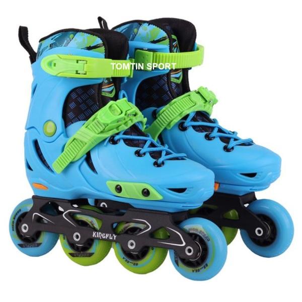 Mua Giày trượt patin trẻ em cao cấp KINGFLY tặng kèm bảo hộ chân tay [TOMTIN SPORT]