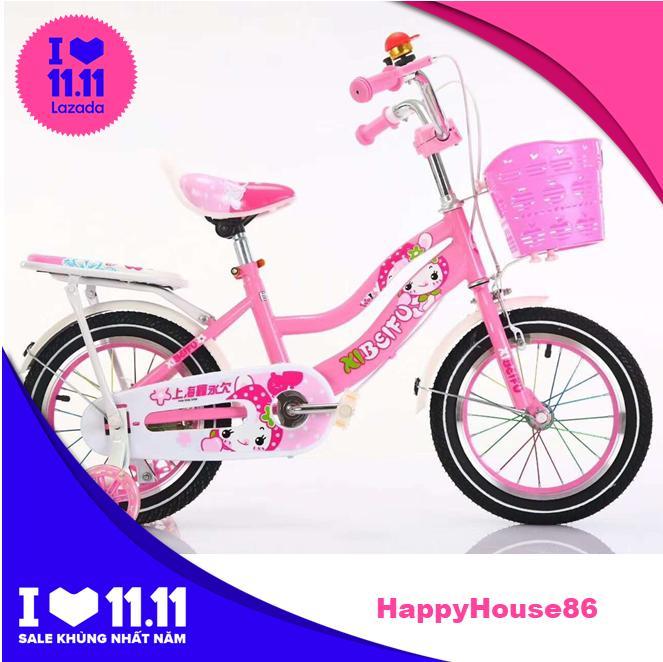 Mua Xe đạp trẻ em cho bé gái 5-8 tuổi - Bánh 16/18 inch