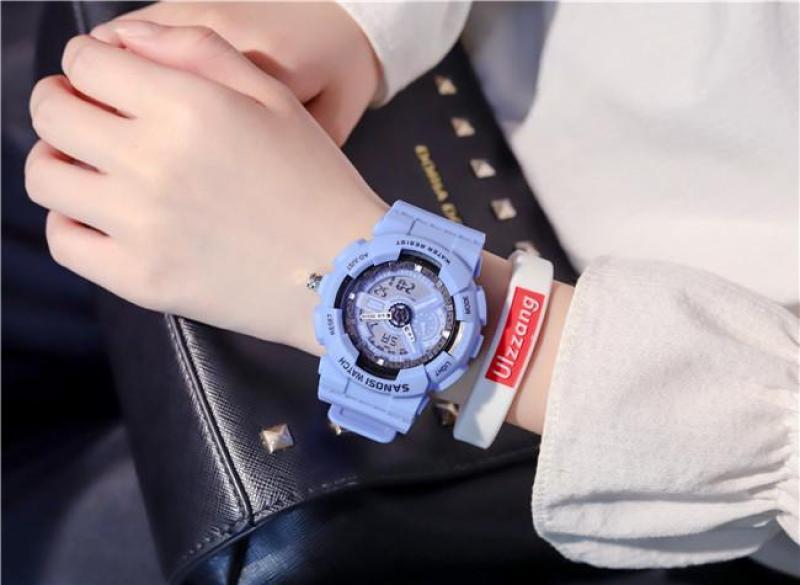 Đồng Hồ Thể Thao  nam nữ Sanosi Sport Watch dây cao su Size 36mm