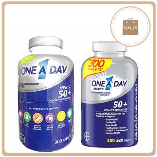 [one a day men 50+] Viên uống bổ sung Vitamin tổng hợp cho Nam trên 50 Tuổi ONE A DAY MEN 50+ 300 viên của Mỹ thumbnail