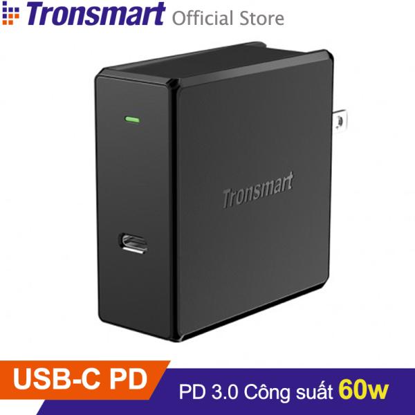 Sạc nhanh TRONSMART WCP02 USB-C công nghệ Power Delivery 3.0 công suất 60w